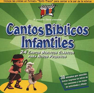 Cantos Biblicos Infantiles, Compact Disc [CD]   -     By: Cedarmont Kids