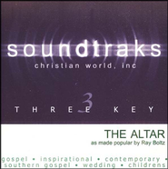The Altar, Accompaniment CD   -     By: Ray Boltz