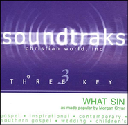 What Sin? Accompaniment CD   -     By: Morgan Cryar