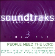 People Need the Lord, Acc CD   -     By: Steve Green