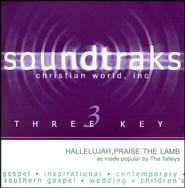 Hallelujah, Praise the Lamb, Acc CD   -     By: The Talleys