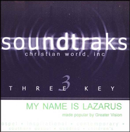 My Name Is Lazarus, Accompaniment CD   -     By: Greater Vision