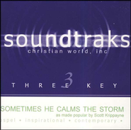 Sometimes He Calms the Storm, Acc CD   -     By: Scott Krippayne