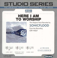 Here I Am To Worship - Medium key performance track w/ background vocals [Original Key]  [Music Download] -     By: SONICFLOOd