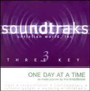 One Day At A Time, Accompaniment CD   -     By: Kris Kristofferson
