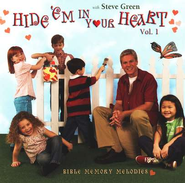 Hide 'Em In Your Heart, Volume 1, Reissue, Compact Disc [CD]   -     By: Steve Green