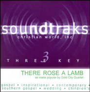 There Rose a Lamb, Acc CD   -     By: Gold City Quartet
