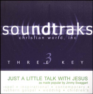 Just A Little Talk With Jesus, Accompaniment CD   -     By: Jimmy Swaggart