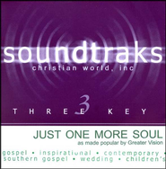 Just One More Soul, Accompaniment CD   -     By: Greater Vision