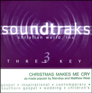 Christmas Makes Me Cry, Accompaniment CD   -     By: Mandisa, Matthew West
