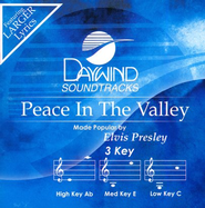 Peace in the Valley, Acc CD   -     By: Elvis Presley