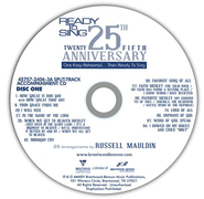 Ready to Sing, 25th Anniversary Collection (Split-Track) 2 Discs  -     By: Russell Mauldin