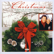 Christmas with Bill & Gloria Gaither CD     -     By: Bill Gaither, Gloria Gaither, Homcoming Friends