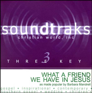 What A Friend We Have In Jesus, Accompaniment CD   -     By: Barbara Mandrell