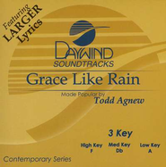 Grace Like Rain, Accompaniment CD   -     By: Todd Agnew