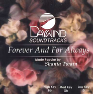 Forever and For Always, Accompaniment CD   -     By: Shania Twain