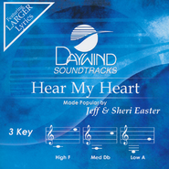Hear My Heart, Acc CD   -     By: Jeff Easter