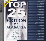 Top 25 Éxitos de Alabanza, CD    -