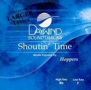 Shoutin' Time, Acc CD   -     By: The Hoppers