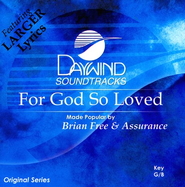 For God so Loved, Acc CD   -     By: Brian Free & Assurance