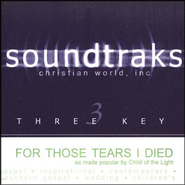 For Those Tears I Died, Accompaniment CD   -     By: Children Of The Light