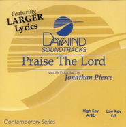 Praise the Lord, Acc CD   -     By: Jonathan Pierce