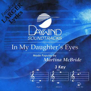 In My Daughter's Eyes, Accompaniment CD   -     By: Martina McBride