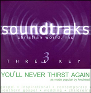 You'll Never Thirst Again, Accompaniment CD   -     By: Anointed