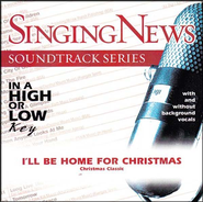 I'll Be Home For Christmas, Accompaniment CD   -