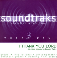 I Thank You Lord, Accompaniment CD   -     By: Lauren Talley