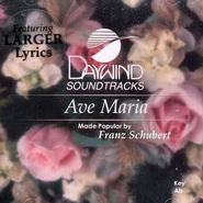 Ave Maria, Accompaniment CD   -     By: Wedding Music