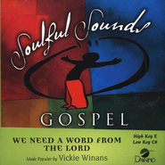 We Need a Word from the Lord, Acc CD   -     By: Vickie Winans