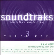 I Am New, Accompaniment CD   -     By: Jason Gray