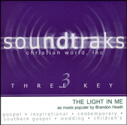 The Light In Me, Accompaniment CD   -     By: Brandon Heath