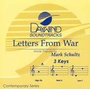 Letters From War, Accompaniment CD   -     By: Mark Schultz