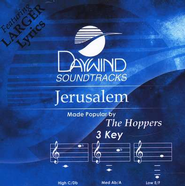 Jerusalem, Acc CD   -     By: The Hoppers