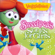 VeggieTales: Sweetpea's Songs for Girls CD   -
