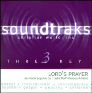 The Lord's Prayer, Accompaniment CD   -     By: Various Artists