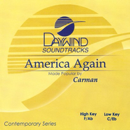 America Again, Accompaniment CD   -     By: Carman