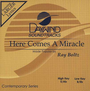 Here Comes A Miracle, Accompaniment CD   -     By: Ray Boltz
