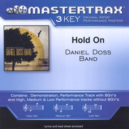 Hold On (Low Key-Premiere Performance Plus w/o Background Vocals)  [Music Download] -     By: Daniel Doss Band