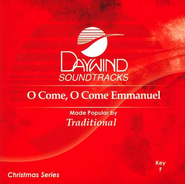 O Come, O Come Emmanuel, Accompaniment CD   -     By: Traditional