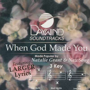 When God Made You, Accompaniment CD   -     By: Natalie Grant