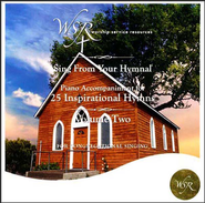 25 Inspirational Hymns, Volume 2 Accompaniment CD   -