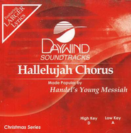 Hallelujah Chorus, Accompaniment CD   -     By: Handel's Young Messiah