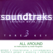 All Around, Accompaniment CD   -     By: Israel Houghton