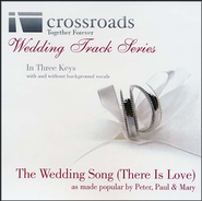 Wedding Song (There Is Love), Acc CD   -     By: Peter Paul & Mary