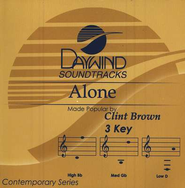 Alone, Accompaniment CD   -     By: Clint Brown