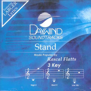 Stand, Accompaniment CD   -     By: Rascal Flatts