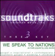 We Speak To Nations, Accompaniment CD   -     By: Judy Jacobs